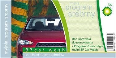 BP BON NA MYJNIĘ PROGRAM SREBRNY  WAŻNY 31-12-2013