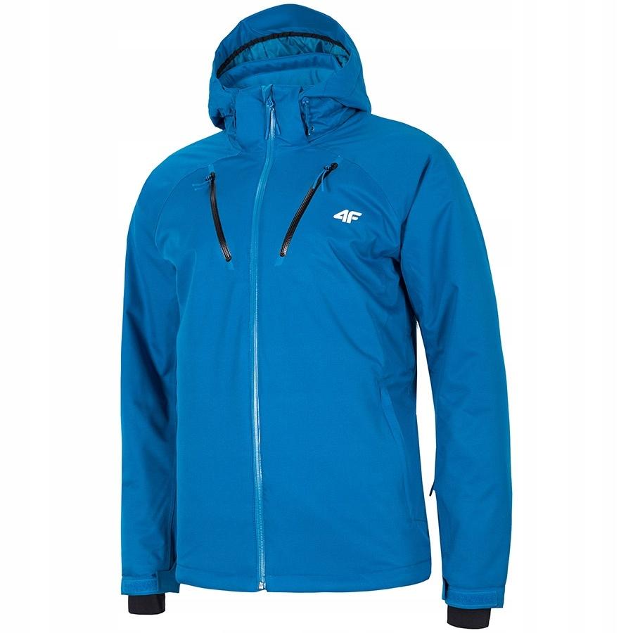 Kurtka narciarska 4F H4Z19-KUMN005 niebieski XXXL