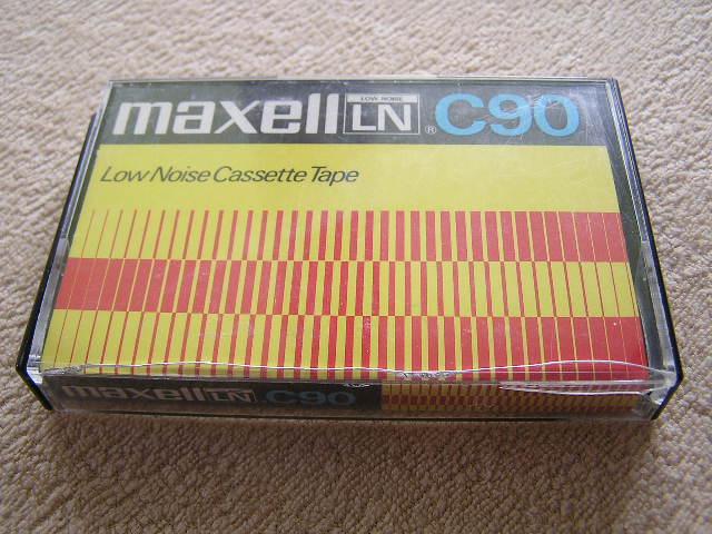 KASETA MAGNETOFONOWA - MAXELL LN C 90.11