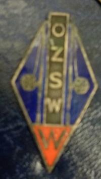 Odznaka wędkarska PZW OZSW