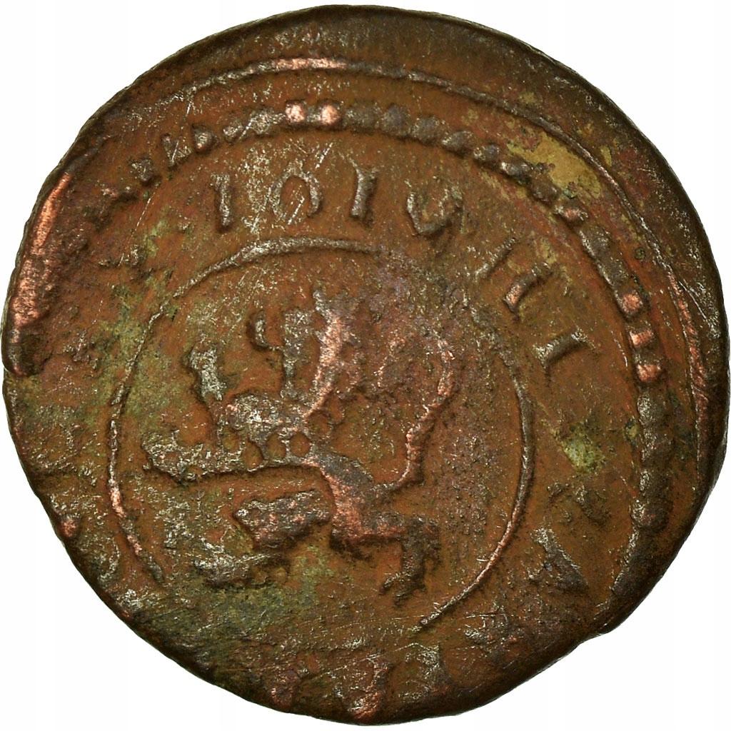 Moneta, Hiszpania, Philip III, 2 Maravedis, 1610,