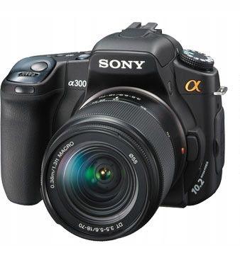 Sony Alpha Dslr A300 10 2mpx 18 70mm 4gb Box Fv 7989836146 Oficjalne Archiwum Allegro