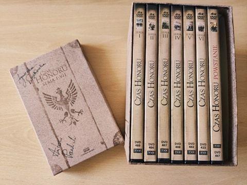 """Czas Honoru"" DVD + AUTOGRAFY AKTORÓW"
