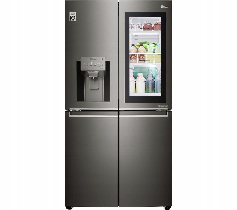 LG Refrigerator GMX936SBHV Free standing, Side by