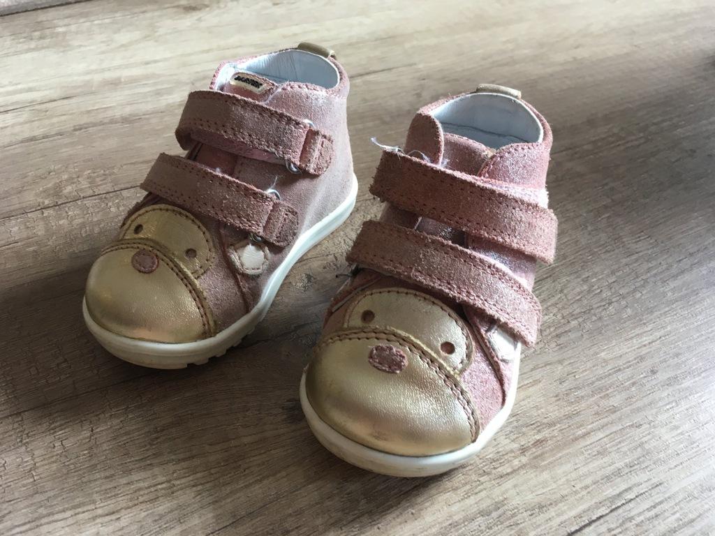 Buciki dla niemowląt Bartek roz.19 pierwsze kroki