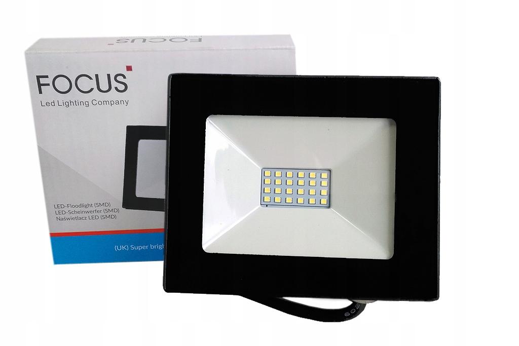 HALOGEN LAMPA NAŚWIETLACZ LED 20W=200W SLIM IP66
