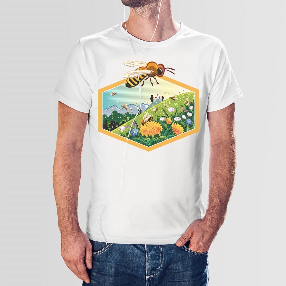 Koszulka T-Shirt męska - Mniszek XXL