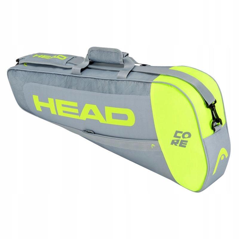 TORBA NA RAKIETY HEAD CORE 3R PRO GREY/YELLOW BAG