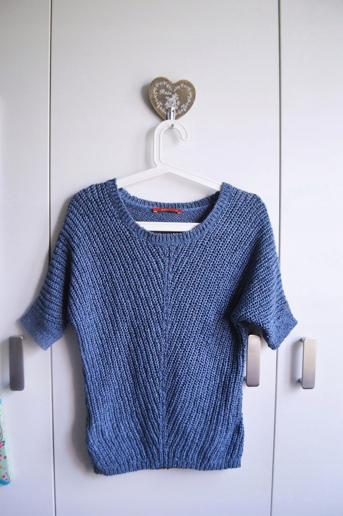 Esprit EDC bluzka letni sweterek XS/S niebeska