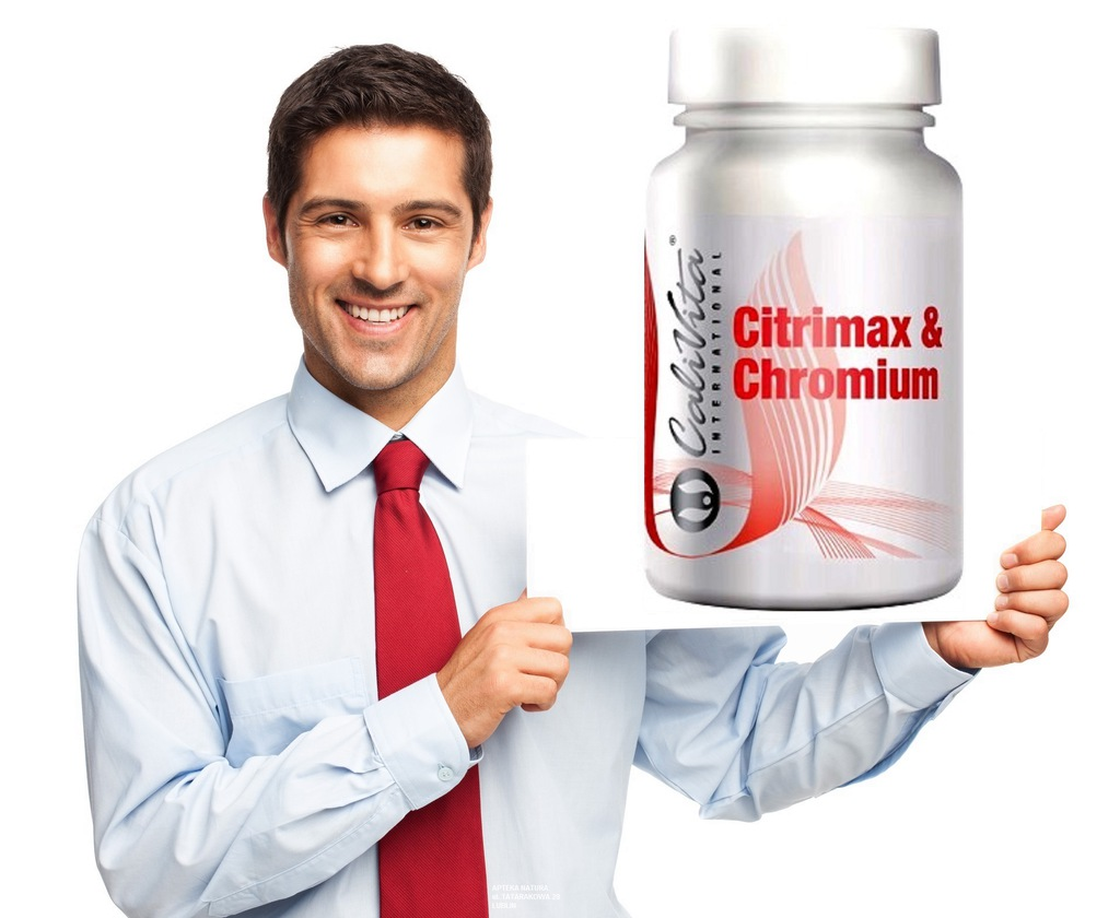 Citrimax and Chromium 90 tabletek