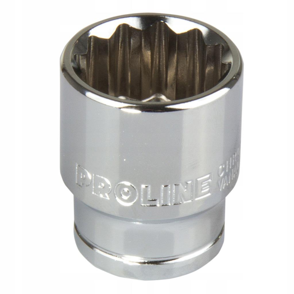 """Nasadka 12-kątna cv 1/2"""" 24 mm proline"""