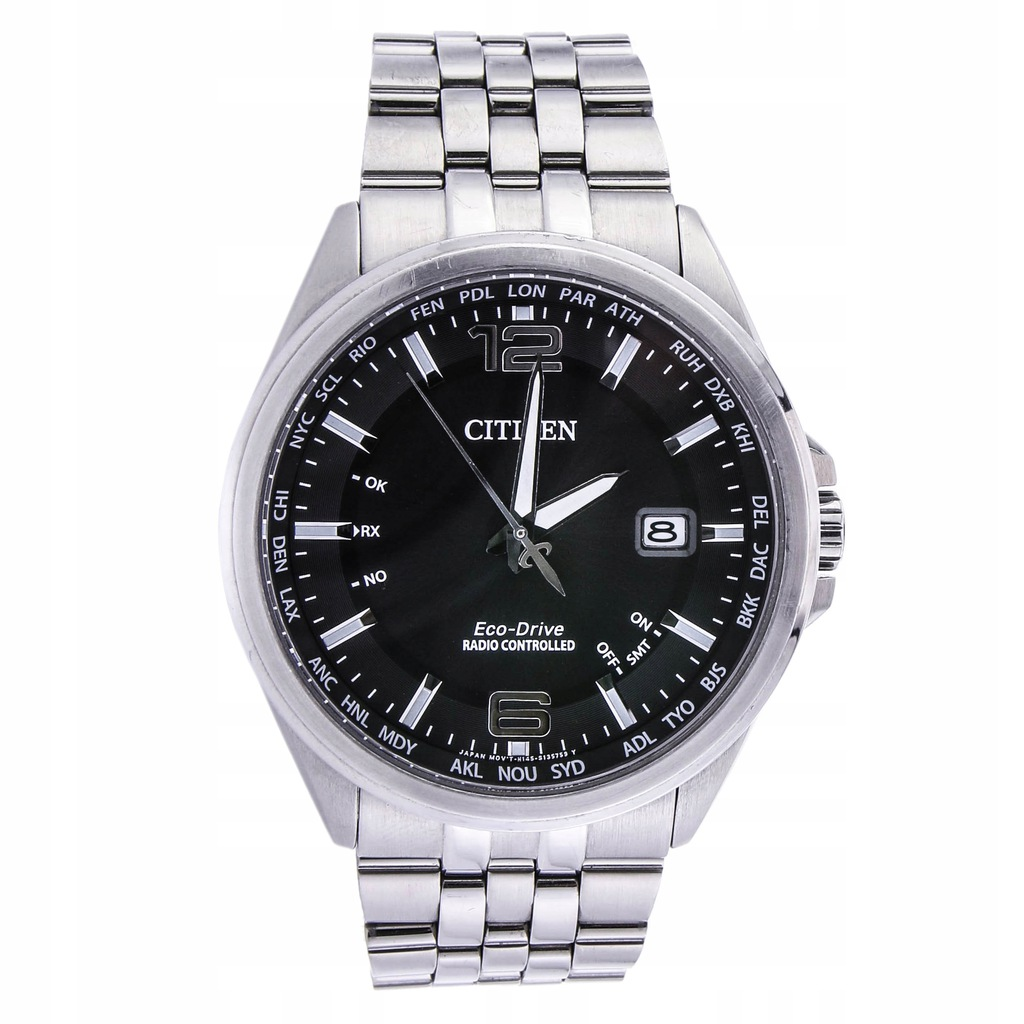 Zegarek CITIZEN CB0010-88E SOLAR ECO-DRIVE data