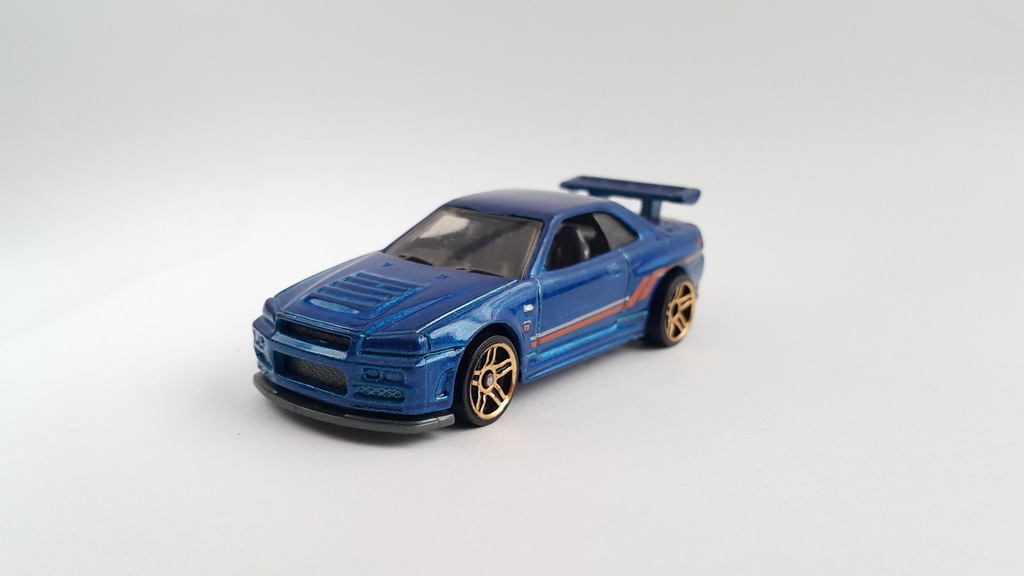 HOT WHEELS NISSAN SKYLINE GT-R R34 GTR