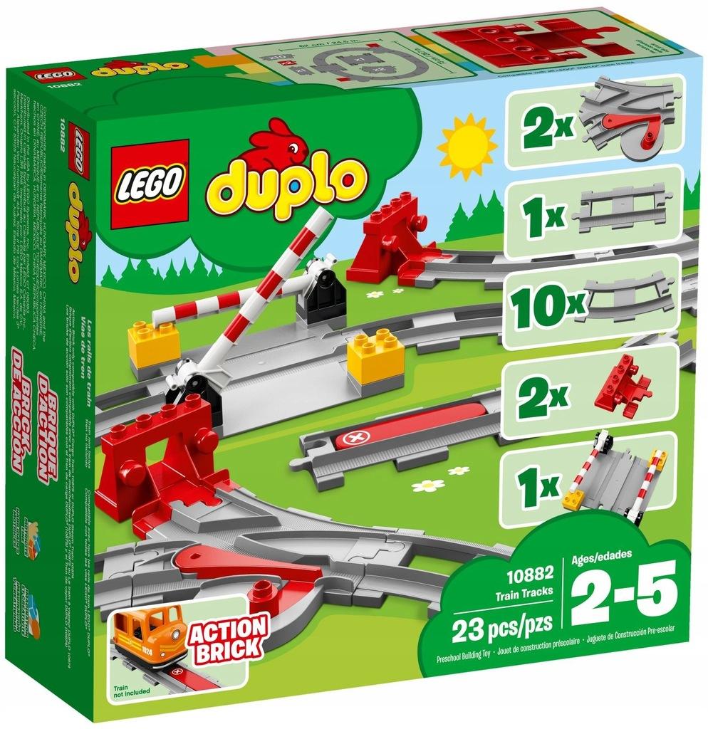 LEGO DUPLO Tory kolejowe 10882