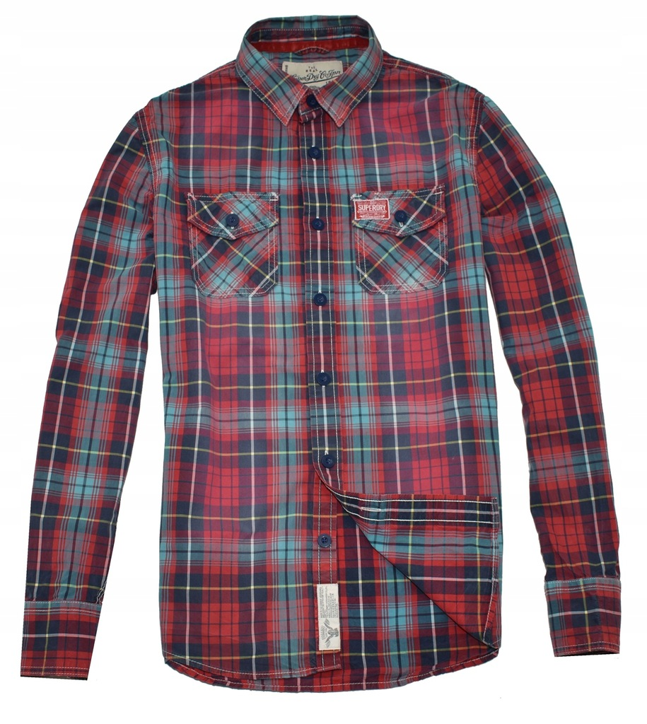 MM 397 SUPERDRY_ORYGINAL VINTAGE CHECK SHIRT_L