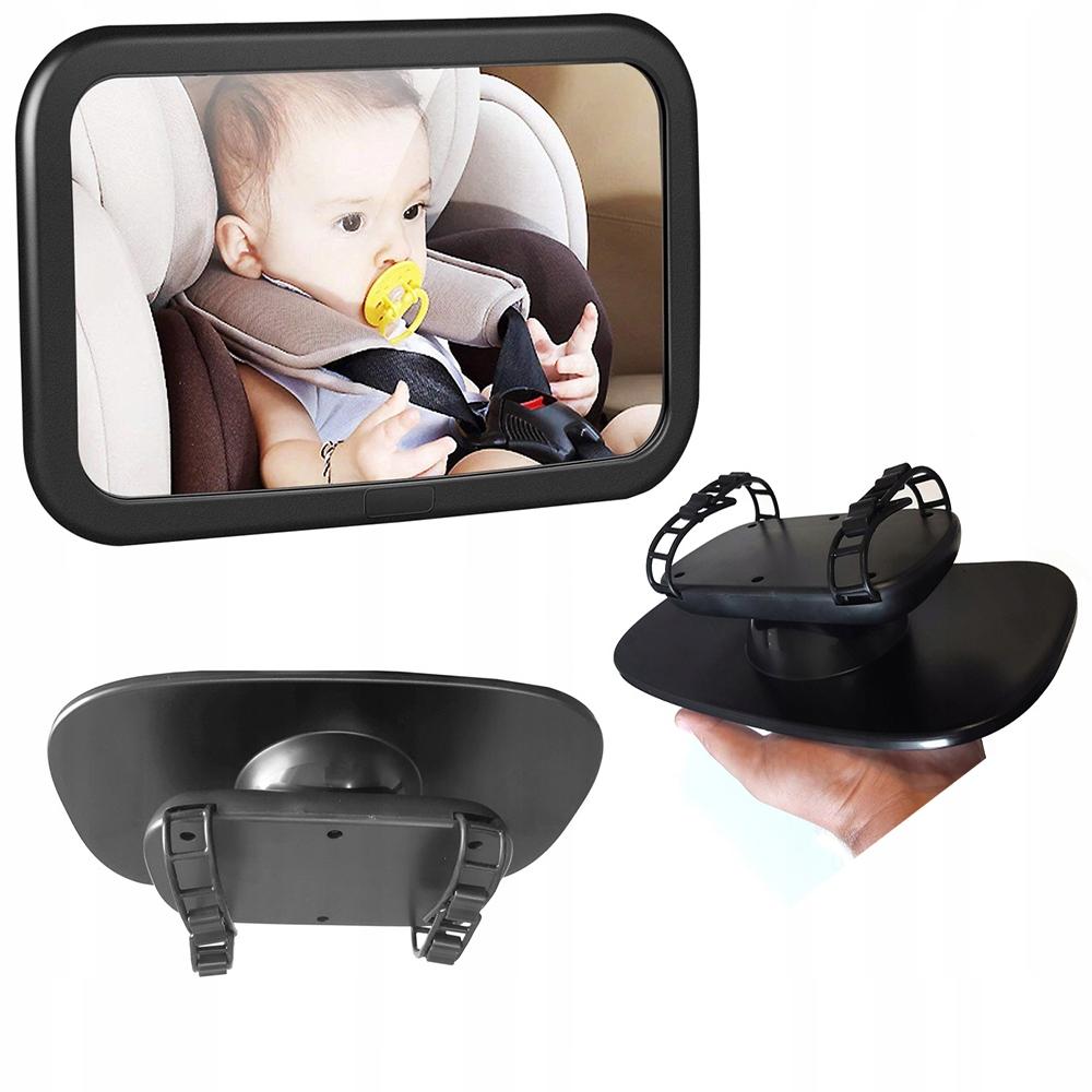 Lusterko do obserwacji dziecka W samochodzie aucie