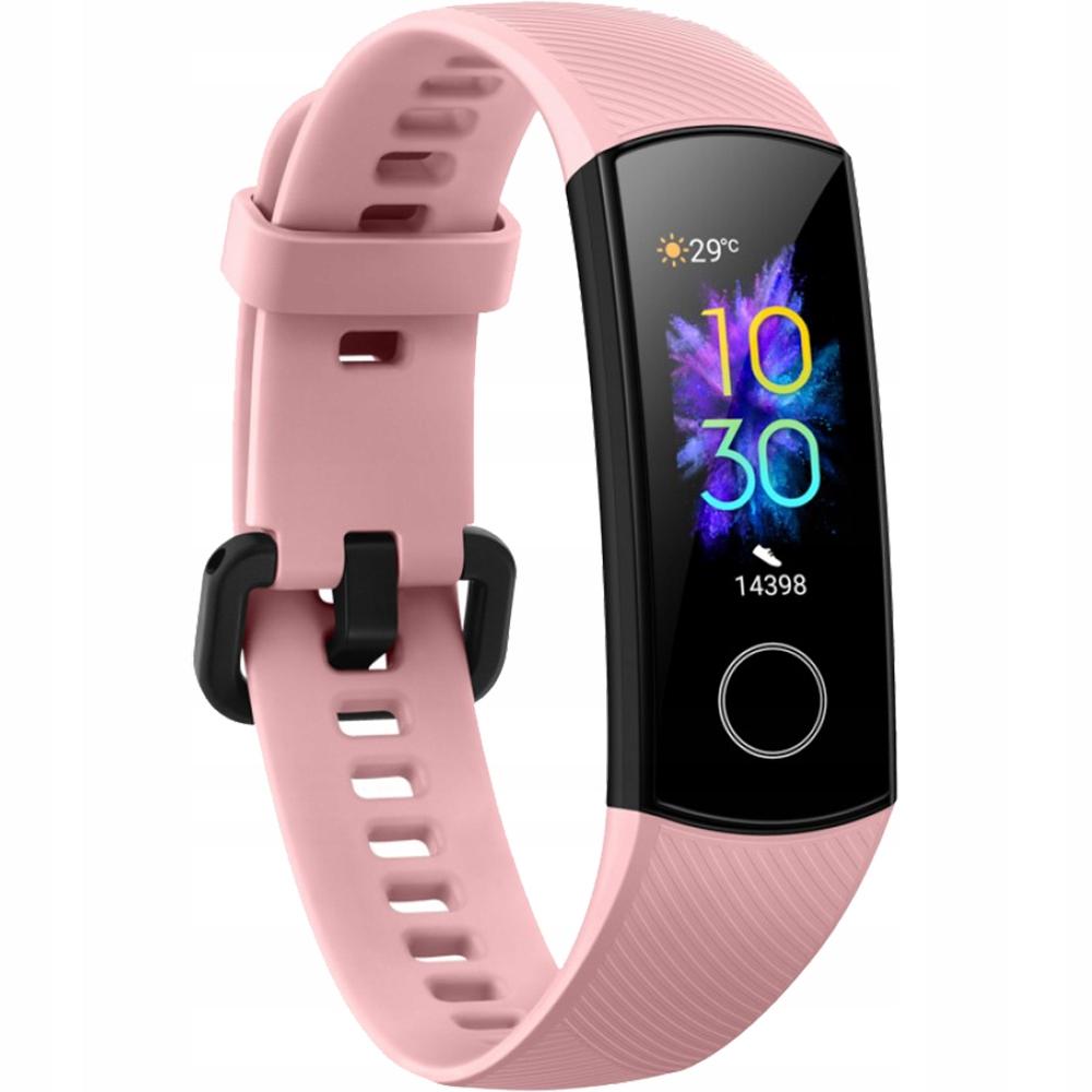 HUAWEI Opaska Smartwatch Fitness Honor Band 5 Róż