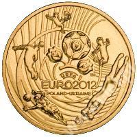 Mistrzostwa Europy w Piłce Nożnej UEFA 2012_moneta