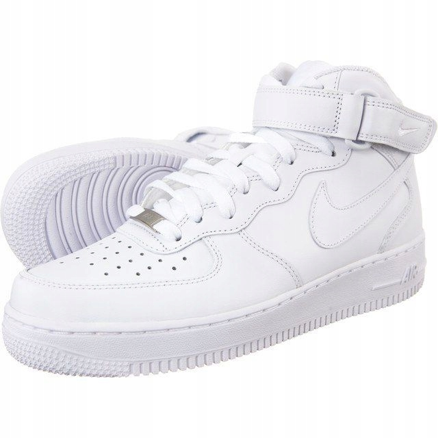 Nike air force AF1 biale za kostke r36 100% orygin