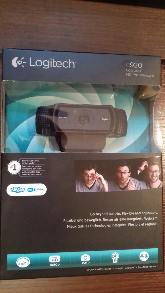 Kamera Logitech C920