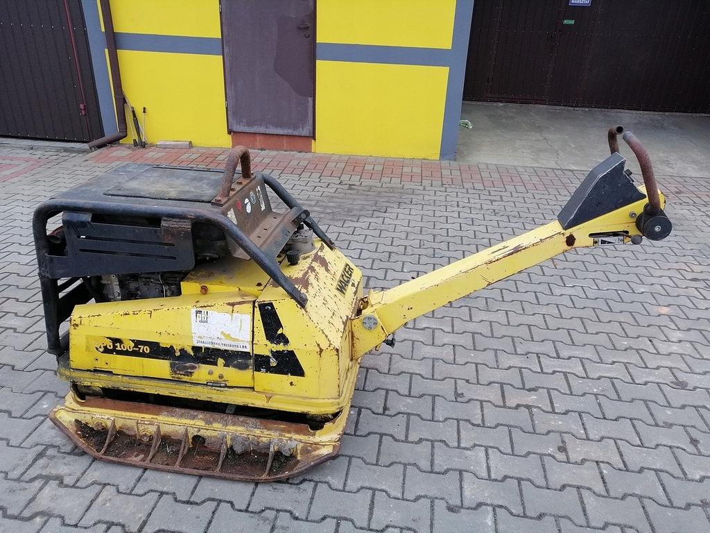 Zagęszczarka Wacker DPU 100-70 silnik 2 Lombardini