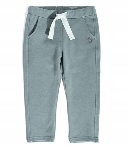 Spodnie bawełna ocieplane Coccodrillo r. 116