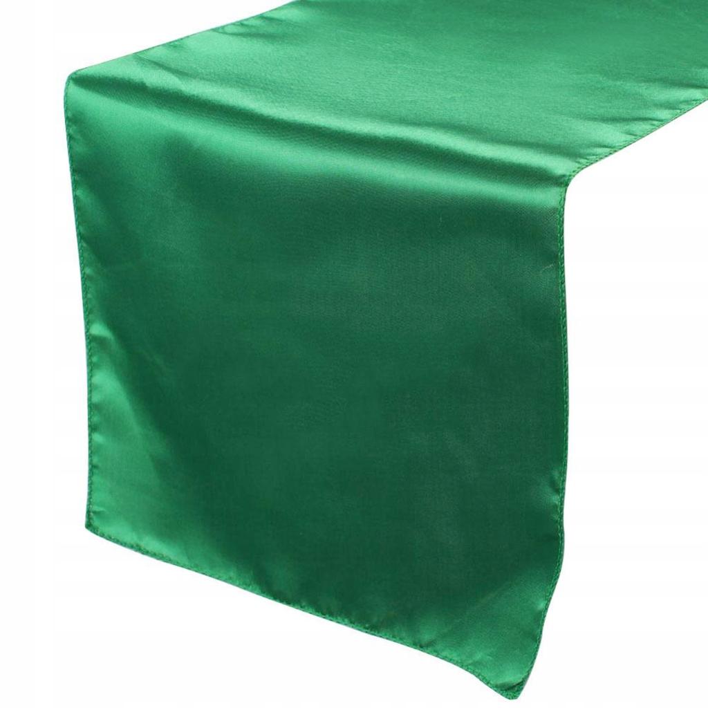 Satynowy bieżnik - Zielony