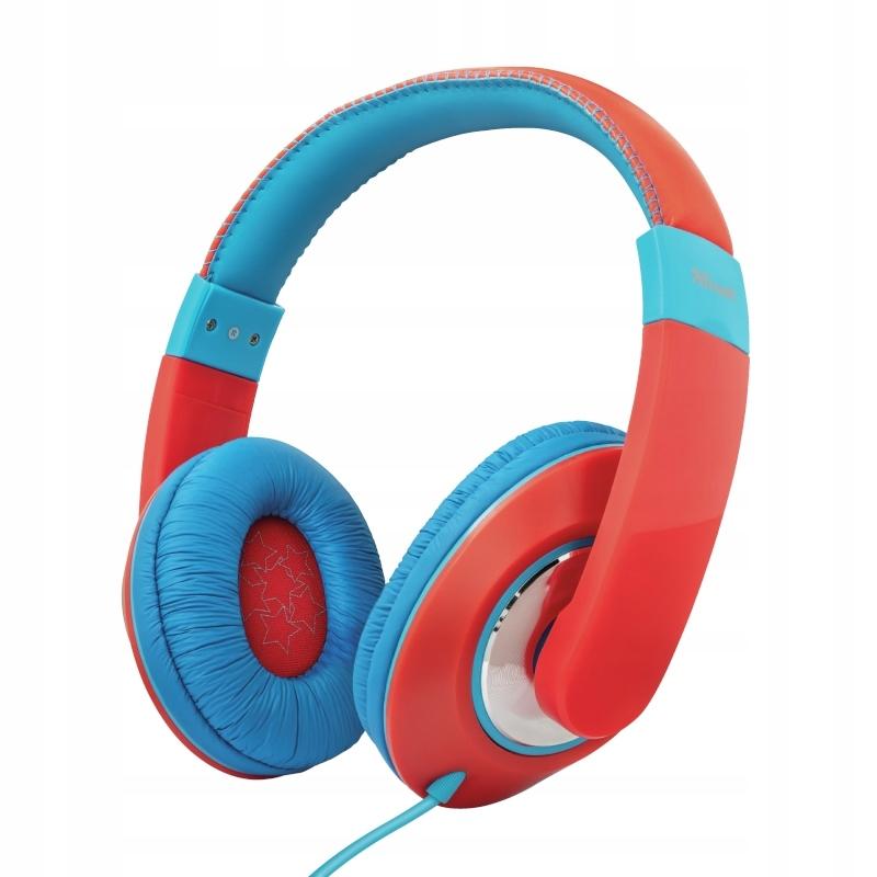 Trust Słuchawki nauszne dla dzieci (RED/BLUE)