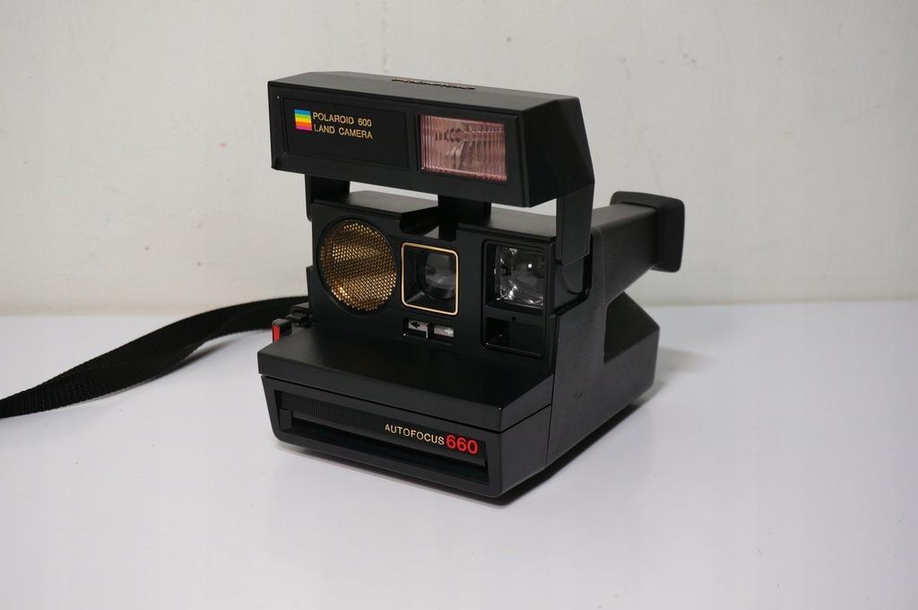Aparat Natychmiastowy Polaroid Sun Autofocus 660