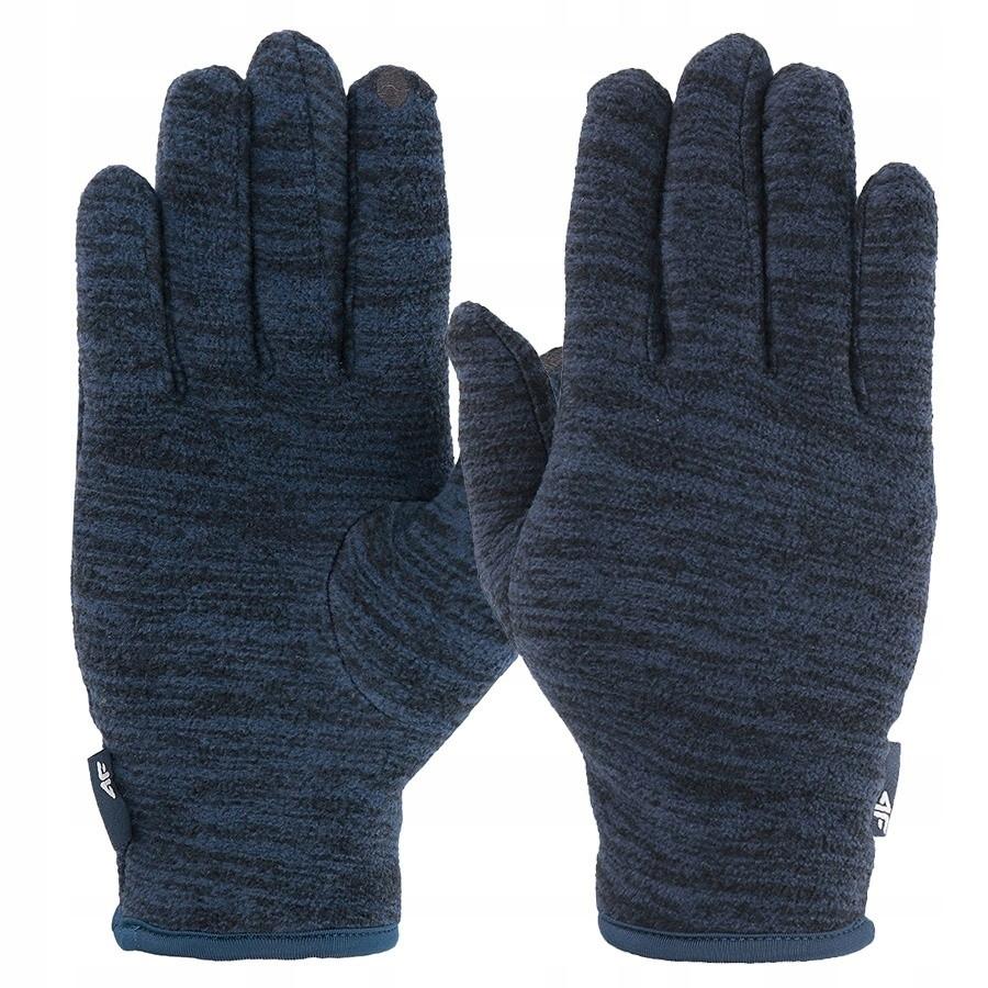 Rękawice zimowe 4F H4Z19-REU065 31M granatowy l /4