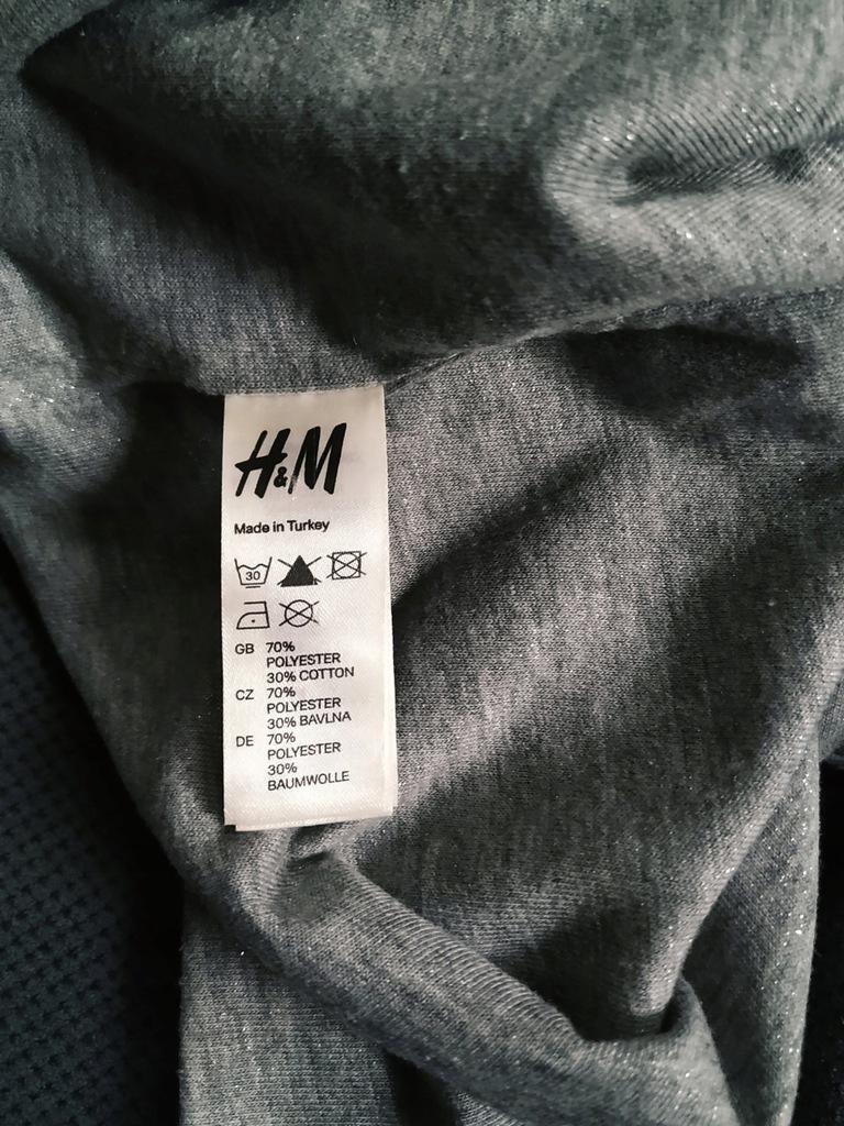 H&M SZARY SZAL SZALIK KOMIN JAK ZARA