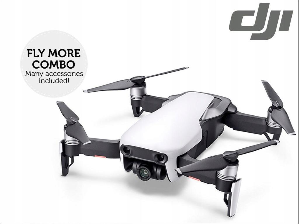 Dron DJI Mavic Air Fly More Combo biały NOWY