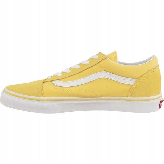 Vans Old Skool Vdw Aspen Gold True White żółte | Buty, Buty