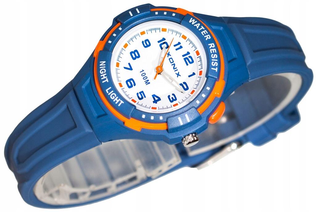 Zegarek XONIX Mały Dziecięcy Podświetlenie WR100m