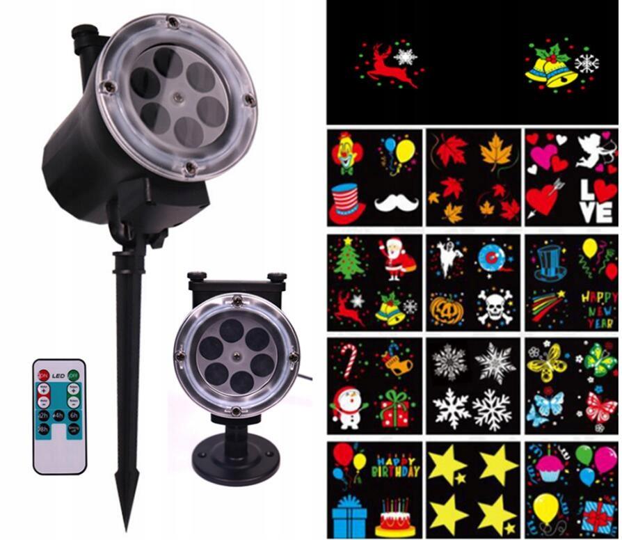Swiateczny Projektor Laserowy Led 16w 12 Wzorow 7697437742 Oficjalne Archiwum Allegro