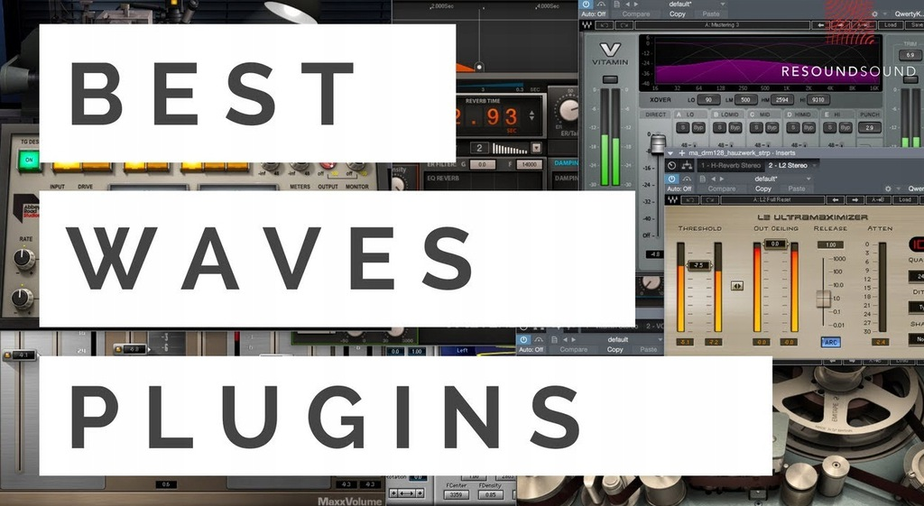 Waves Audio 37 Plugins Wtyczki Mixmastering Winmac 8168775561 Oficjalne Archiwum Allegro