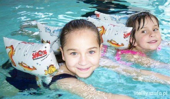 ekologiczne pływaczki dla dzieci rekawki bawełna