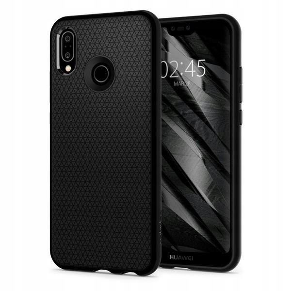 Etui Spigen Liquid Air Huawei P20 Lite Black