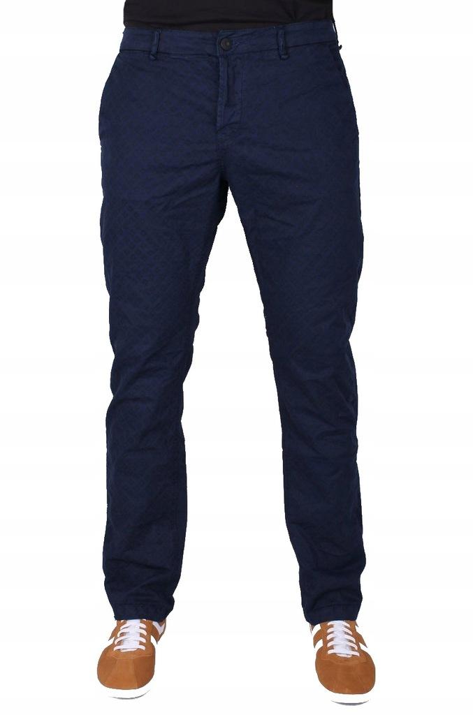 ORYGINALNE spodnie ONLY SONS nadruk GRANAT 33/32