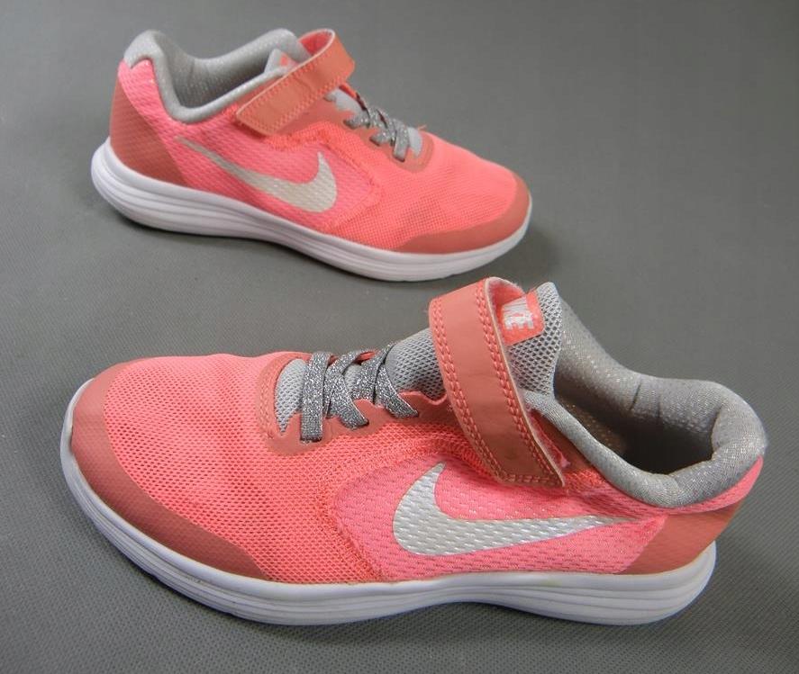 NIKE REVOLUTION 4 lekkie buty sportowe RZEPY 34