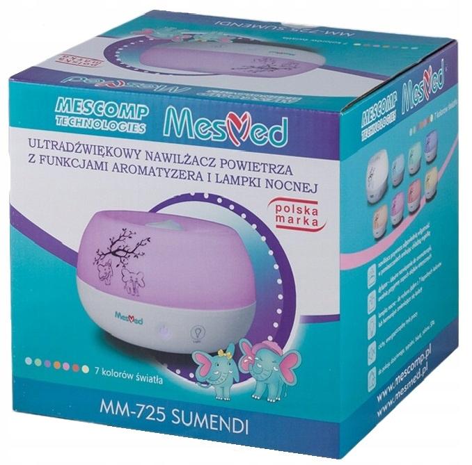 MesMed MM725 Nawilżacz aromatyzer lampka nocna