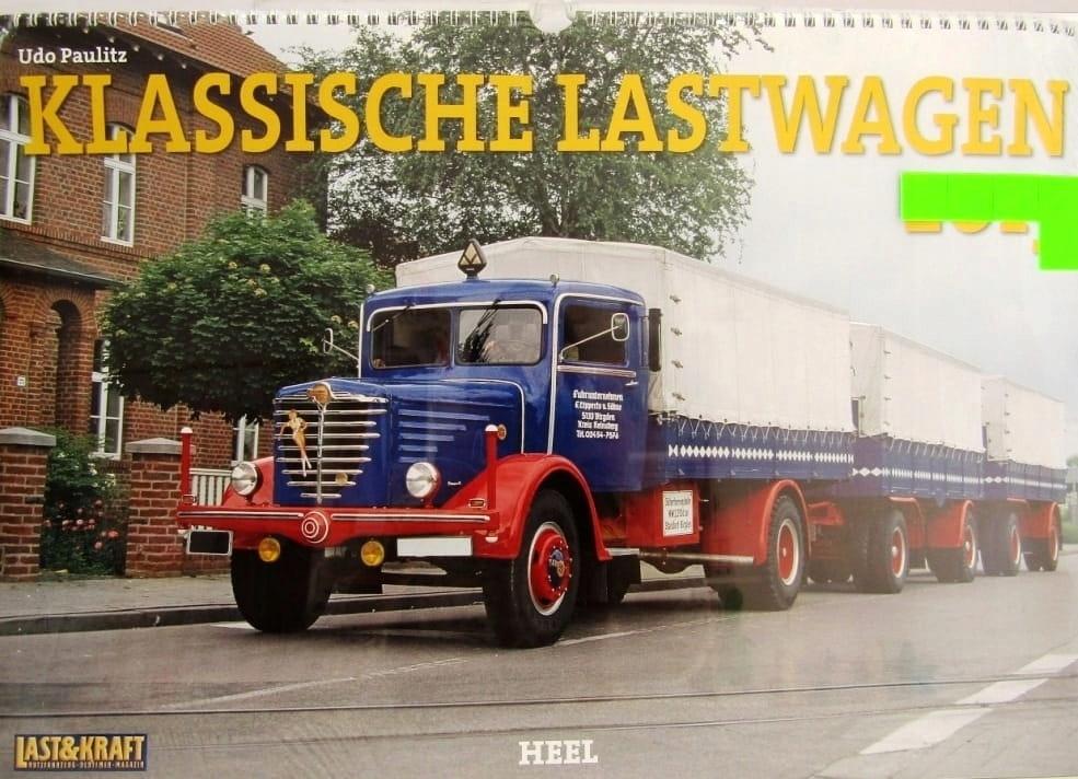 Klasyczne ciężarówki, kalendarz 2013