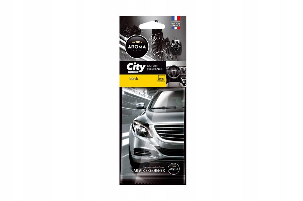 Odświeżacz powietrza AROMA CAR CITY CARD BLACK