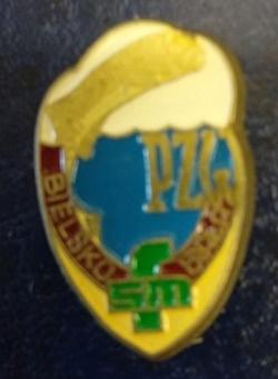 Odznaka wędkarska PZW FSM Bielsko Biała