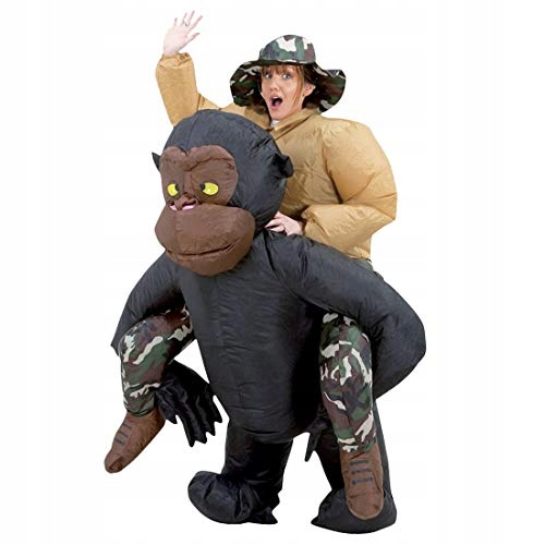 Nadmuchiwany kostium goryla poliester