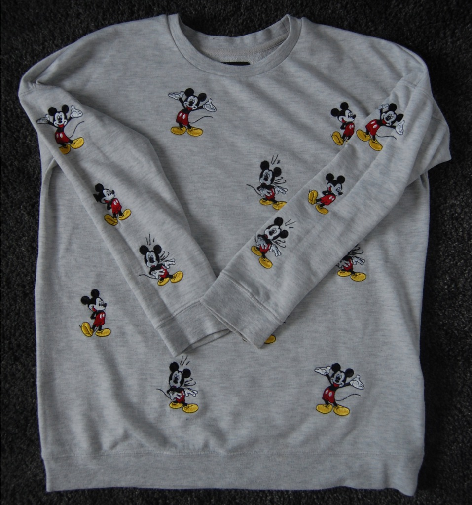 Bluza szara Mickey Mouse, Reserved M