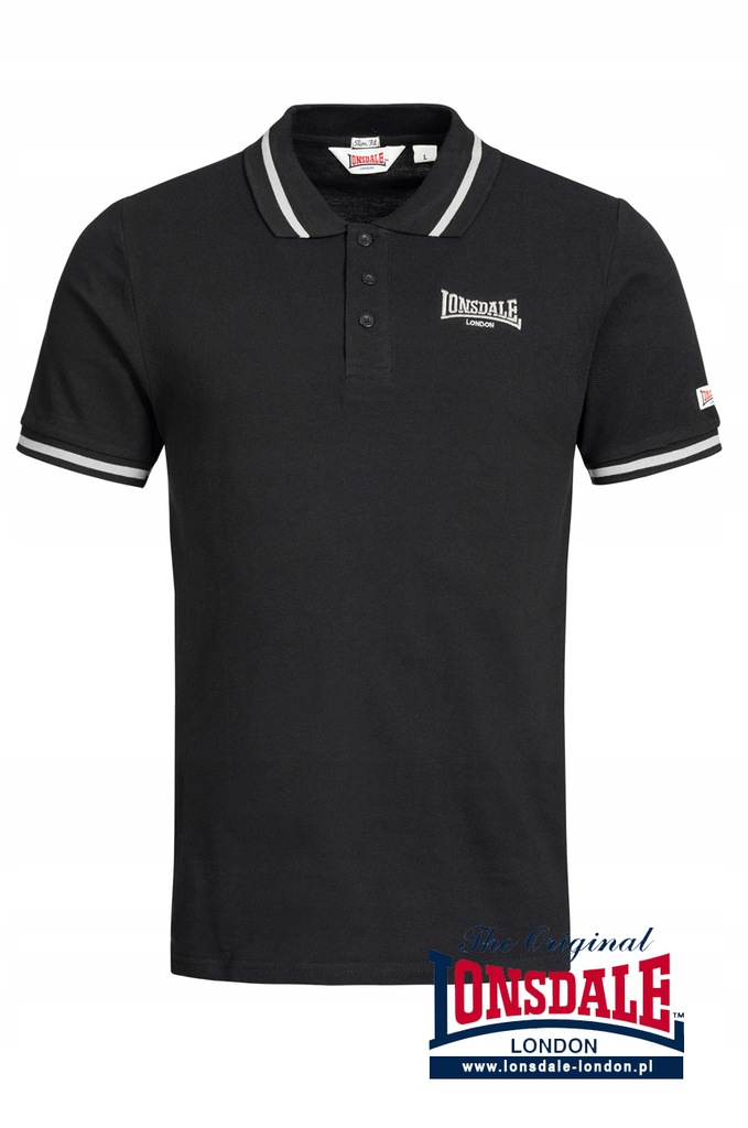 Koszulka Polo LONSDALE LONDON 100% bawełna - 2XL