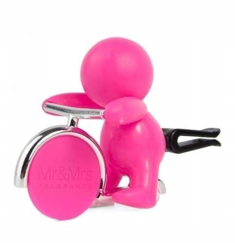 Mr&Mrs GINO Scent for Car, Fuschsia, with magn