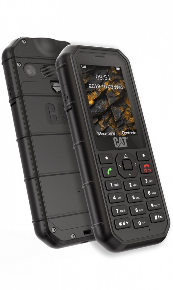 """CAT B26 Black, 2.4 """", TFT, 240 x 320, 8 MB, 8"""