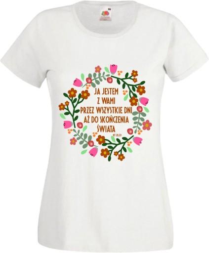 koszulka religijna T SHIRTY religijne cytaty napis